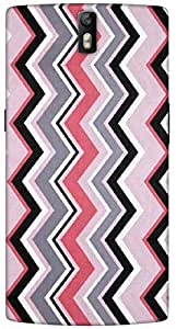 Timpax Light Weight Hard Back Case Cover Printed Design : Abstract design.Exclusively Design For : ONE PLUS ONE
