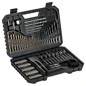 Bosch 2607017367Punta per Trapano Set V-Line Titanium, Set di 103Pezzi, Nero 51j8YTXpFoL. SS300
