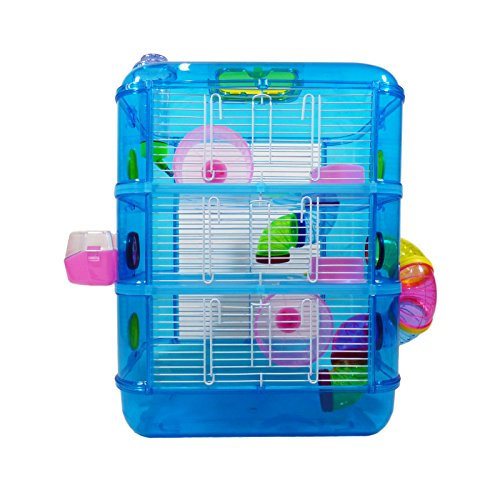 Hamster Cage   3 Story With Tubes   Perfect For...