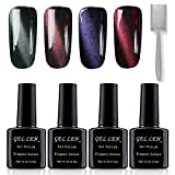 Vernis Gel Semi Permanent UV LED - Gellen Vernis à Ongles Nail Gel Soak off Manucure...