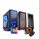 PC DESKTOP GAMING COMPLETO INTEL i7-7700 4.2GHZ / ASUS GEFORCE® GTX 1050 Ti eSPORTS GAMING 4GB DDR5 / RAM DDR4 16GB/ SSD 240GB + HD 1TB / WIFI - WINDOWS 10