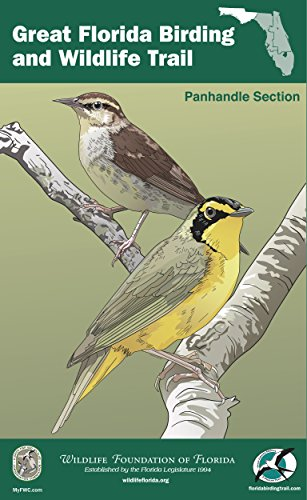 Birding Series (The Great Florida Birding and Wildlife Trail Guide - Panhandle Section (The Great Florida Birding and Wildlife Trail Guide Series Book 2) (English Edition))