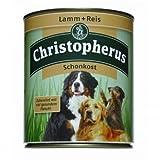 6 x Allco Christopherus Lamm & Reis pur Schonkost 800 g, Hundefutter, Nassfutter