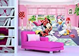 AG fTDxxl2229 Photo intissé Motif Palmiers-photomurals Mural Disney Minnie