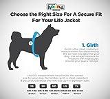 Kyjen 22019 Outward Hound Ripstop Quick Release Easy Fit Rettungsweste für Hunde, verstellbar, Größe S, orange - 6