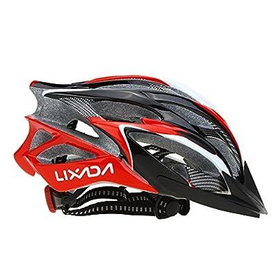 Cycle Helmet,Lixada Mountain Bicycle Helmet 25 Vents Adjustable Comfortable Safety Helmet for Outdoor Sport Riding Bike from Lixada