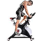 Sportstech Cyclette Professionale SX500 con Controllo per App con Smartphone, volano...