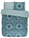 Bettwäsche CADIZ blau 135 x 200 cm - (401075-100DE-001)