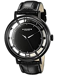 Akribos XXIV Reloj con movimiento cuarzo japonés AK860BK  45 mm