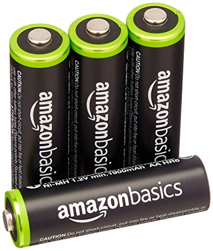 4 Batterie tipo AA Ricaricabili