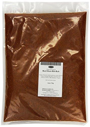 Eder Gewürze - Beef-Short-Rib-Rub - 1 kg, 1er Pack (1 x 1 kg) -