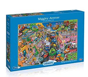 Gibsons Miggley Avenue Jigsaw Puzzle 2000 Pieces