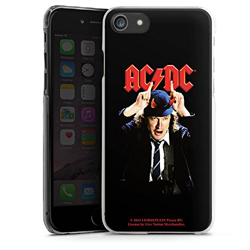 Apple iPhone X Silikon Hülle Case Schutzhülle ACDC Merchandise Fanartikel Riverplate Hard Case transparent