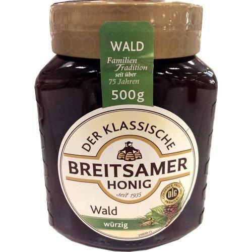 Breitsamer Honig Der Klassische Waldhonig 500g Glas (würzig)