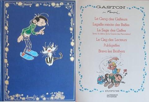 Intégrale Gaston Lagaffe (Rombaldi) - Tome