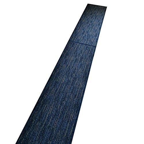 Küchenläufer in großer Auswahl strapazierfähiger Küchematte Teppich Läufer für Küche Flur uvm. rutschfester Kücheteppich Teppichläufer Flurläufer für alle Böden size 50x150 cm (Blau) Restaurant Rutschfeste Schuhe