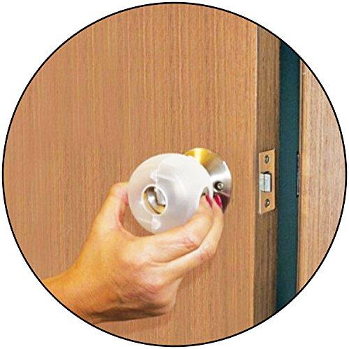 Pack of 4 - Effective anti-locking Door Knob Case