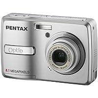 Pentax Optio E40 Digitalkamera (8 Megapixel, 3-fach opt. Zoom, 6,1 cm (2,4 Zoll) Display) silber