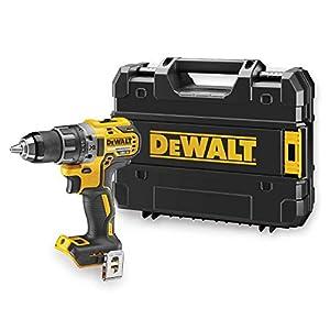 DeWalt Bohrschrauber (18 Volt, mit zwei-Gang Vollmetallgetriebe, LED-Arbeitsleuchte, 15-Stufiges Drehmomentmodul für…