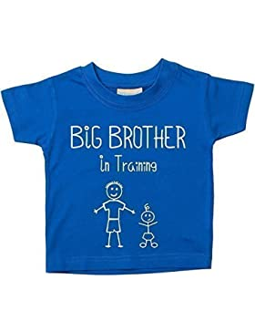 Grande Fratello in formazione Maglietta Blu Baby per bambini disponibile in taglie da 0–6mesi a 14–15anni...