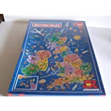 Picture Map Puzzle Of The British Isles