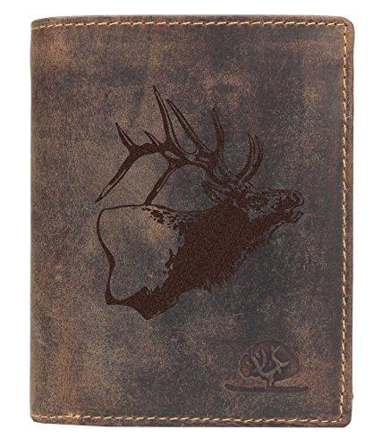 Greenburry Vintage Forest H01 Lederbörse braun