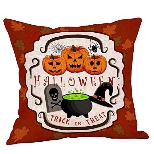 Halloween Kissenbezug Verkauf HUYURI Monster Schädel Kürbis Home Decor Throw Kissenbezug