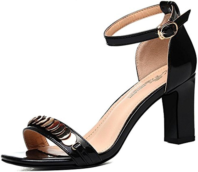 Chanclas MEIDUO sandalias Sandalias Zapatos de mujer Verano Bordón grueso Abalorios Abalorios para Casual para...