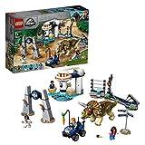 LEGO Jurassic World - La fureur du Tricératops, Jouets Dinosaure 7 Ans et Plus, 447 Pièces - 75937