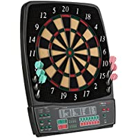 Ultrasport Diana electrónica, clásica para 8 jugadores, 28 juegos, 167 variantes, pantalla LED