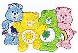 Aufnäher Bügelbild Aufbügler Iron on Patches Applikation Glücksbärchi Care Bear