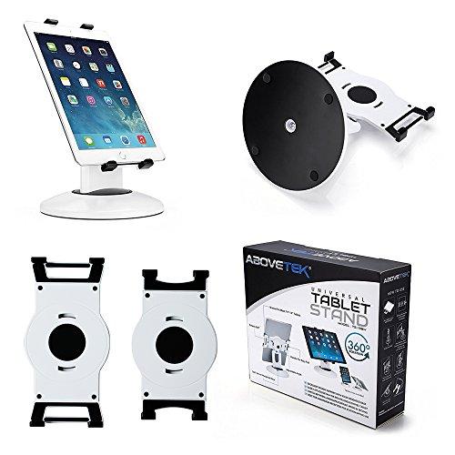 abovetek Retail POS Tablet Ständer, 360° Swivel Business iPad Stand, 20,1–34,3cm iPad Pro/Air/Mini Kommerzielle Tablet-Halterung, drehbar Design für Store Kiosk Büro Styling Empfang Küche Desktop