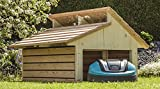 Mähroboter Garage RoboGard Home aus Holz - für alle gängigen Rasenroboter