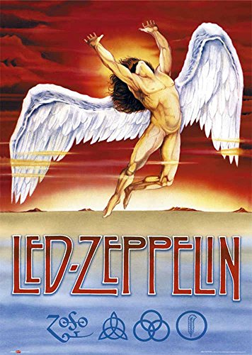 empireposter - LED Zeppelin - Swan Song - Größe (cm), ca. 61x91,5 - Poster, Neu - Led Zeppelin-swan Song-poster