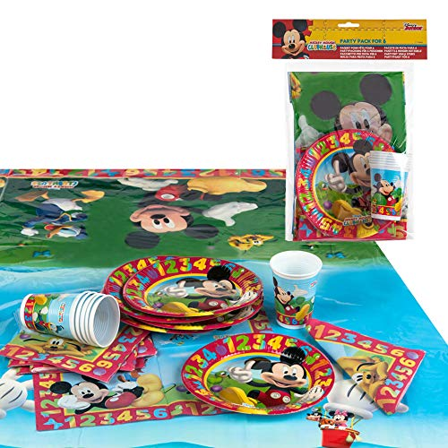 Disney - Pack fiesta reciclable Mickey: