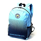 Manchester City FC Official Fade Football Crest Backpack/Rucksack