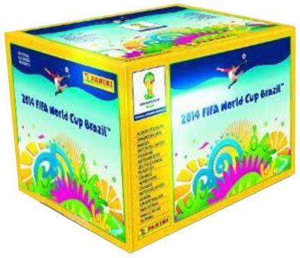 Panini - FIFA World Cup Brasil 2014 - Sticker - 1 Display (100 Tüten) - Deutsche/Österreichische Ausgabe - LIEFERBAR (World Cup Panini Sticker 2014)
