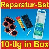 Fahrrad Flickzeug 10tlg Reparatur Box Fahrradschlauch Filmer