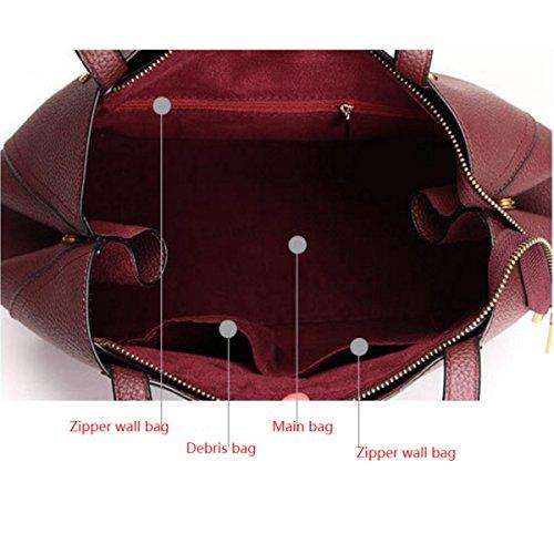 Damenmode Handtasche Quaste Umhängetasche Mit Einer Handtasche Blue