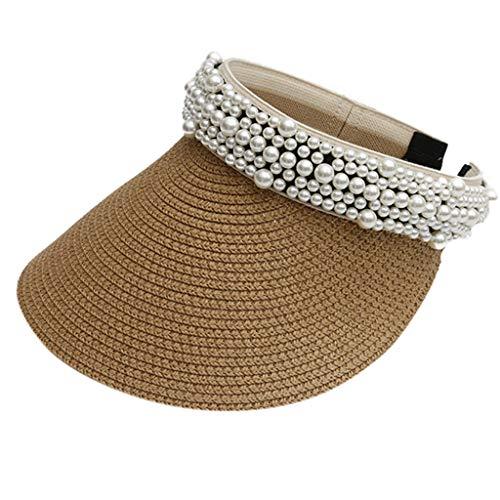 Timogee Damen Sonnenhut Sommerhut Outdoor Sonnenblende Sommer Weiblicher Hut Baseball Kappe Frauen Anti-UV Hut