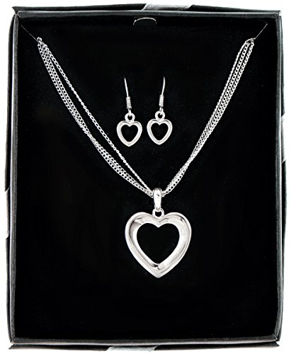 bulk-buys-heart-plus-soul-necklace-and-earring-set-case-of-36