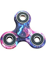 FREAO Tri-Spinner Fidget Hand Spinner Camouflage Multi-Color, EDC Focus Toys For Kids and Adults