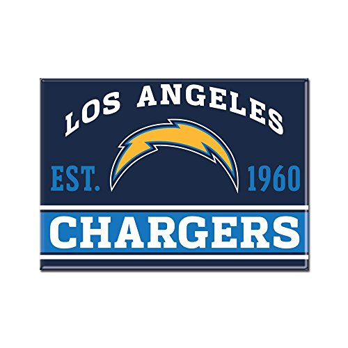 WinCraft NFL LOS ANGELES CHARGERS Metall Magnet Philip Rivers Nfl Jersey
