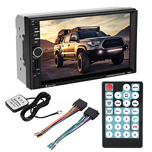 Keenso MP5-7020G 17,8 cm 2Din Auto Touch Screen MP5 MP3 Player Auto Multimedia Radio Stereo unterstützt USB/TF/U Disk/AUX/FM mit Bluetooth, Fernbedienung, Rückfahrkamera, GPS Navigation MP5-7020G (Mp5 Multimedia-player)