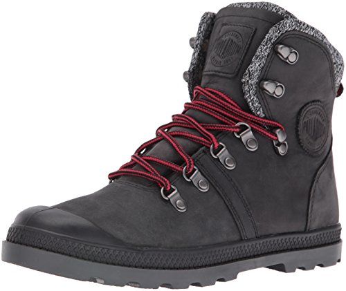Palladium Damen Pallabrouse Hikr Lp Combat Boots Black (Blk/Red/Castlerock)