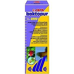 sera 02580 baktopur 500 ml - Arzneimittel gegen bakterielle Infektionen bei Zierfischen (z. B. Maul- und Flossenfäule)