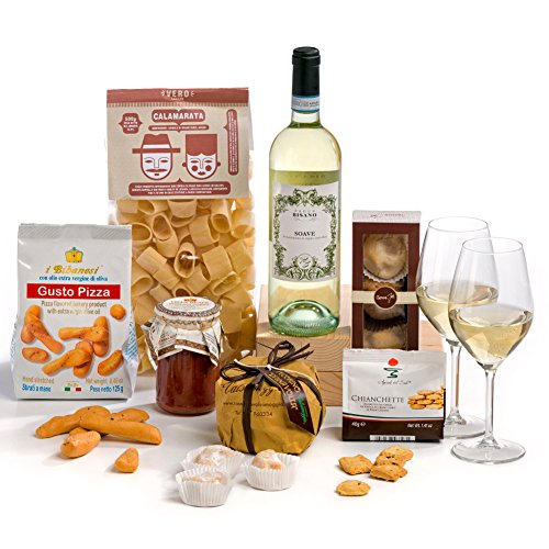 Hay Hampers Gourmet Italian Dinner Hamper Box - FREE UK Delivery