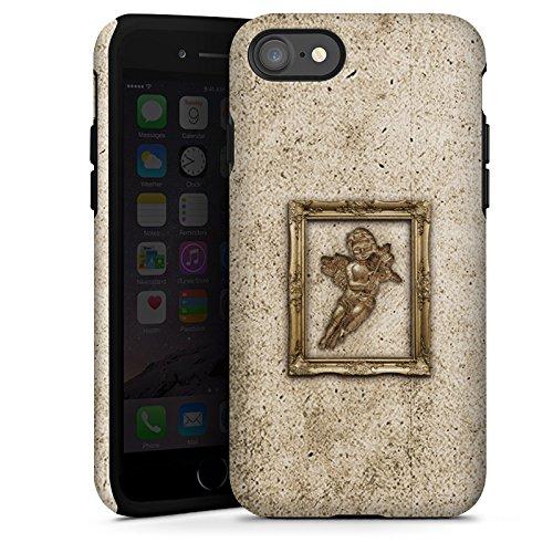 Apple iPhone X Silikon Hülle Case Schutzhülle Engel Angel Gemälde Tough Case glänzend