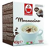 NESPRESSO MOCACCINO Flavored Kaffee - 10 Stück Kompatible Kaffeekapseln von Caffè Bonini Italien.