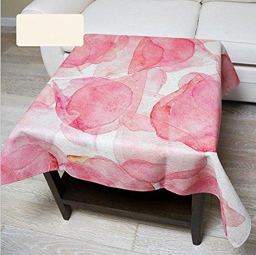 dibujo-simple-moderno-petalo-de-corea-mesa-de-cafe-de-algodon-tela-de-color-rosa-fresca-mesa-de-pano